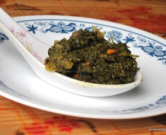 Gongura Pachadi ~ Sorrel Leaves Chutney