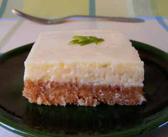 Key Lime Pie Bars with a Coconut Crust