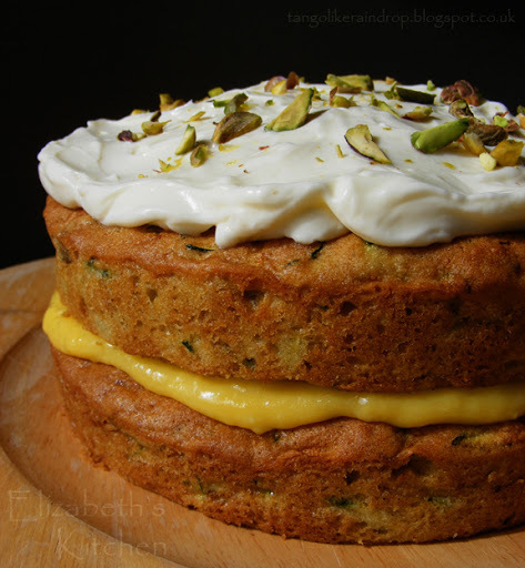 Flora's Famous Courgette Cake