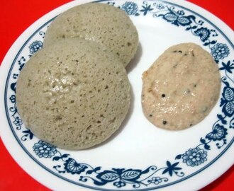 Whole Bajra Idli / Sajjala Idli