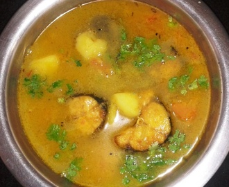 Rohu Fish Curry/ Rui Macher Jhol