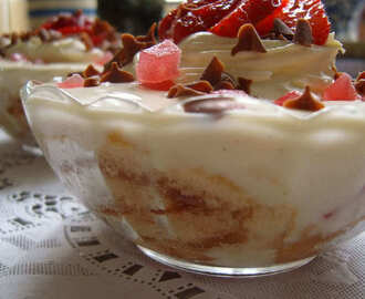 Pear and Ginger Trifle