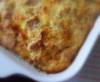 Re-Purposed Biscuit (scone) Breakfast Casserole