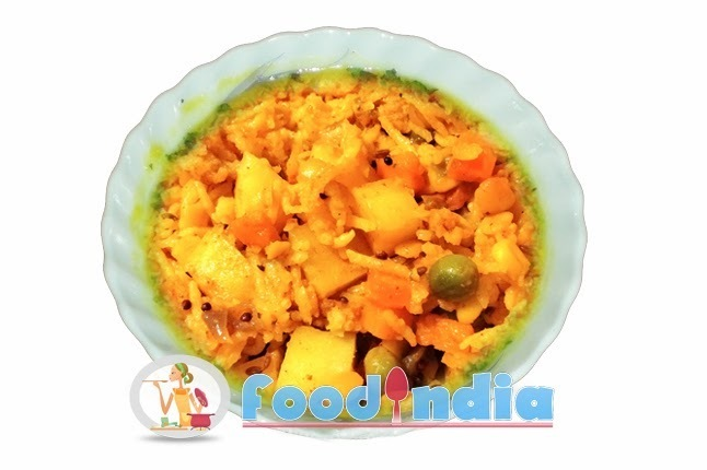Vegetable Khichdi Recipe | Most Delightable Healthy Vegetable Khichdi Recipe
