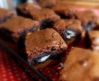 Chocolate Chip and Cream Cookie Brownies