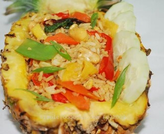 PINEAPPLE PEPPERS RICE