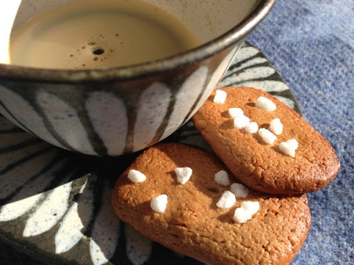 Triple ginger freezer biscuits - gluten and dairy free