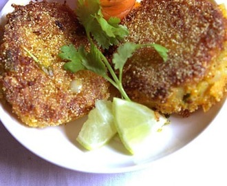DRY FRIED CARROT POTATO CUTLET