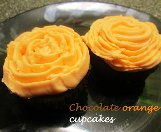 CHOCOLATE ORANGE CUPCAKES