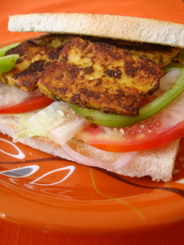 GRILLED PANEER (COTTAGE CHEESE)