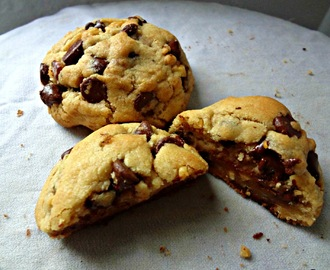 Guest Post at The German Foodie- Ultra Thick Chocolate Chip Cookies
