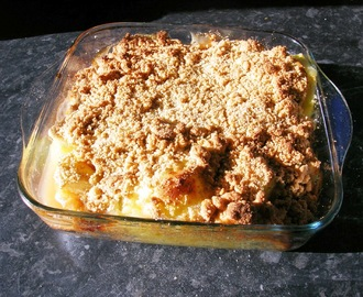 Cider Apple Crumble