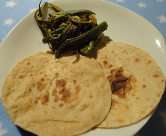 Phulka Roti/Indian Puffed Bread