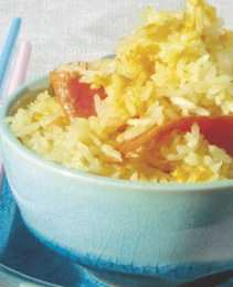 Paistettu riisi (fried rice)