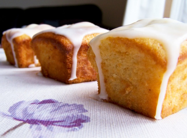 Little Lemon Loaf Cakes