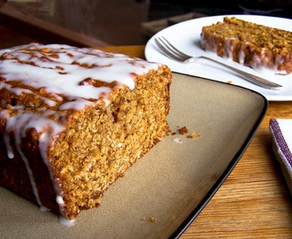 Lightly-Spiced Stem Ginger Cake
