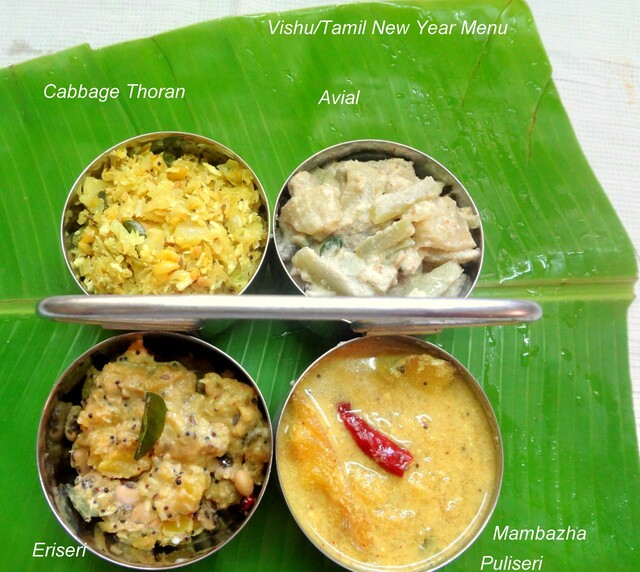 Recipes for Vishu/Tamil New Year