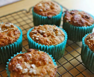 No Refined Sugar Breakfast Muffins; great for adults but also for kids