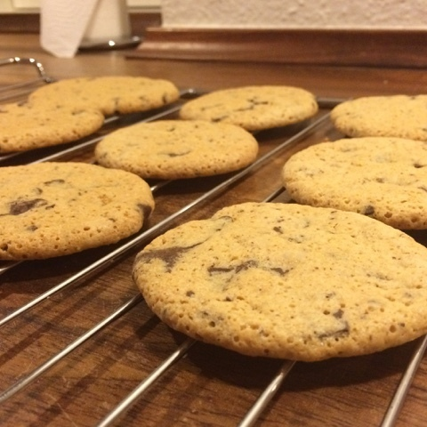Glutenfri Chocolate chip cookies