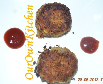 Aloo Tikki/ Aloo Cutlet/ Potato Cutlet