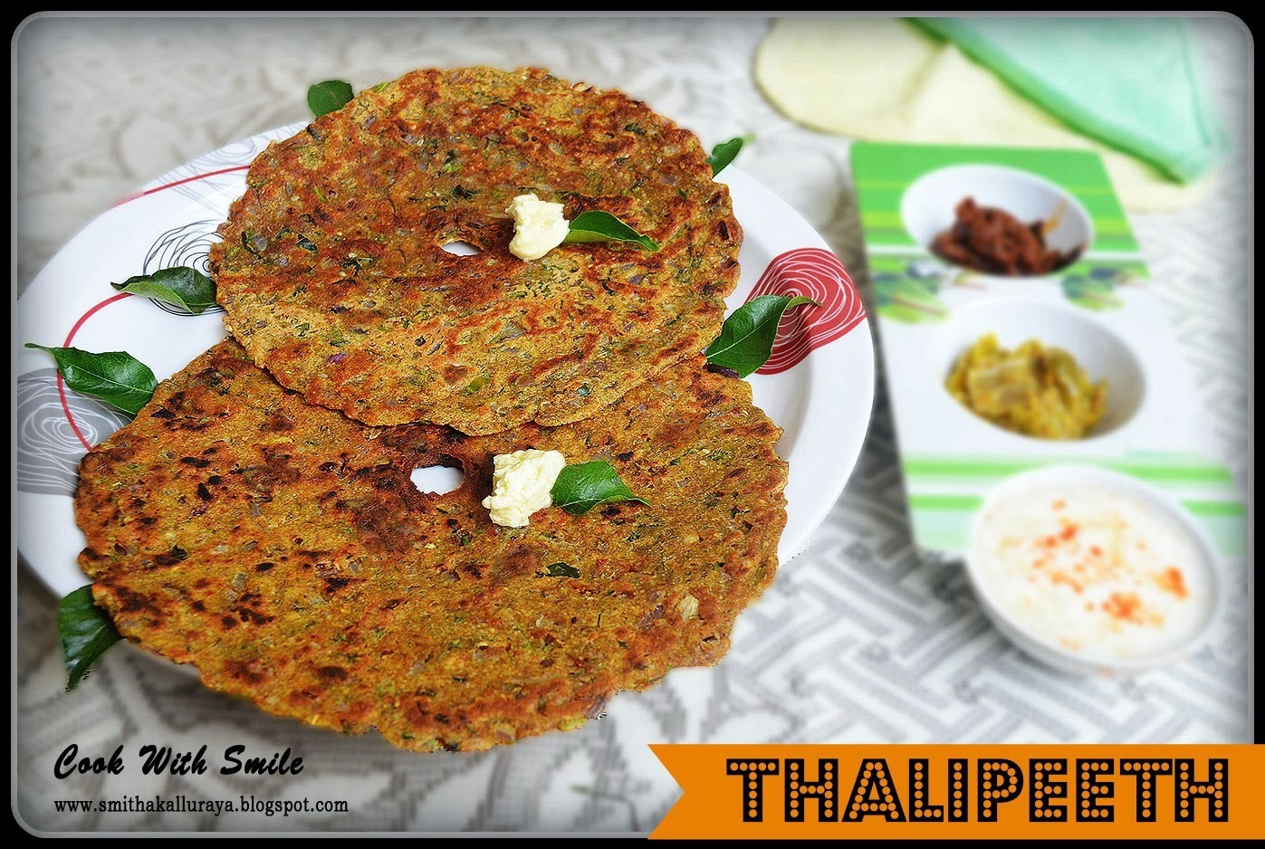 THALIPEETH RECIPE / MULTIGRAINS INDIAN FLAT BREAD
