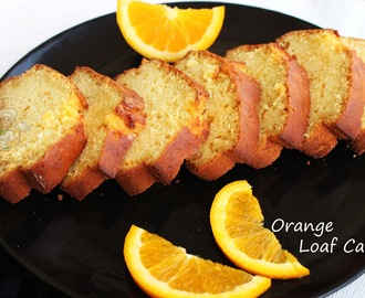 ORANGE LOAF - MOIST ORANGE LOAF CAKE / TEA CAKES