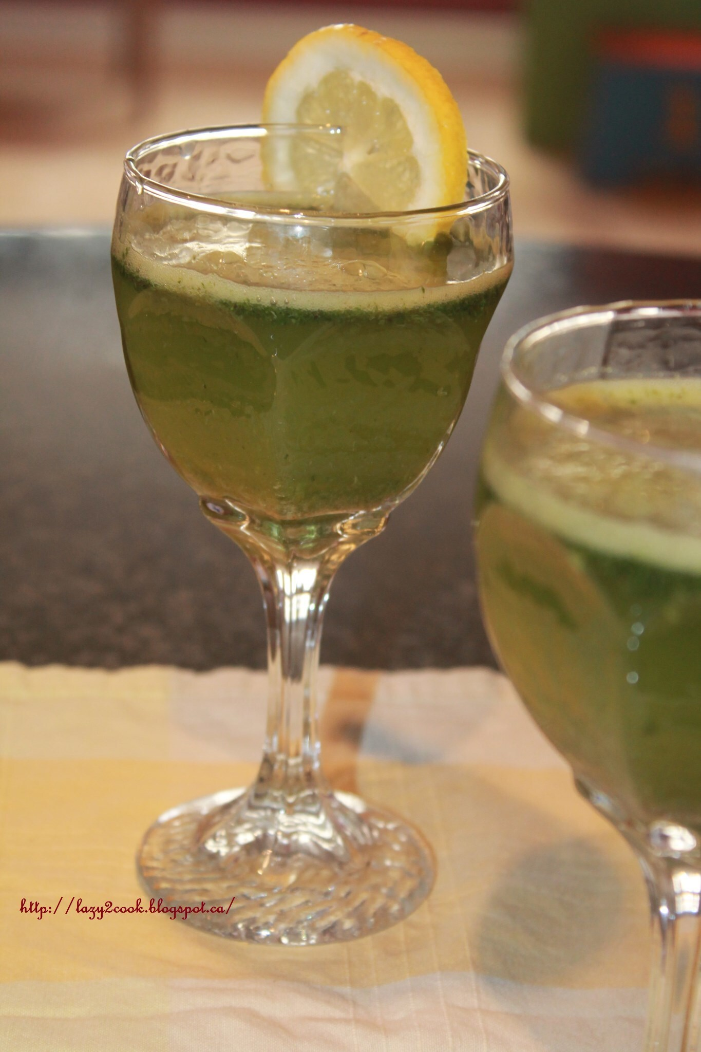 Mint and Lemon juice