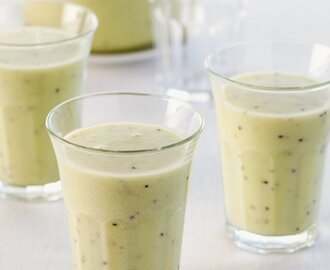 Kiwi sinaasappel smoothie