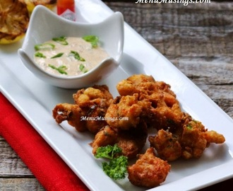 Crawfish Fritters with Spicy Remoulade Sauce