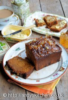 Sticky Ginger Marmalade Tea Loaf Recipe