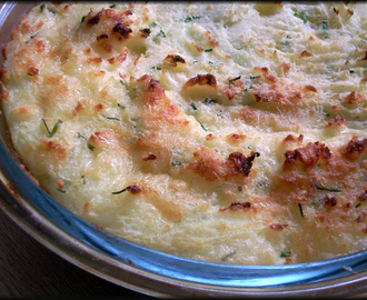 Ultimate Cheesy Mash - Great Dinner Party Side Dish