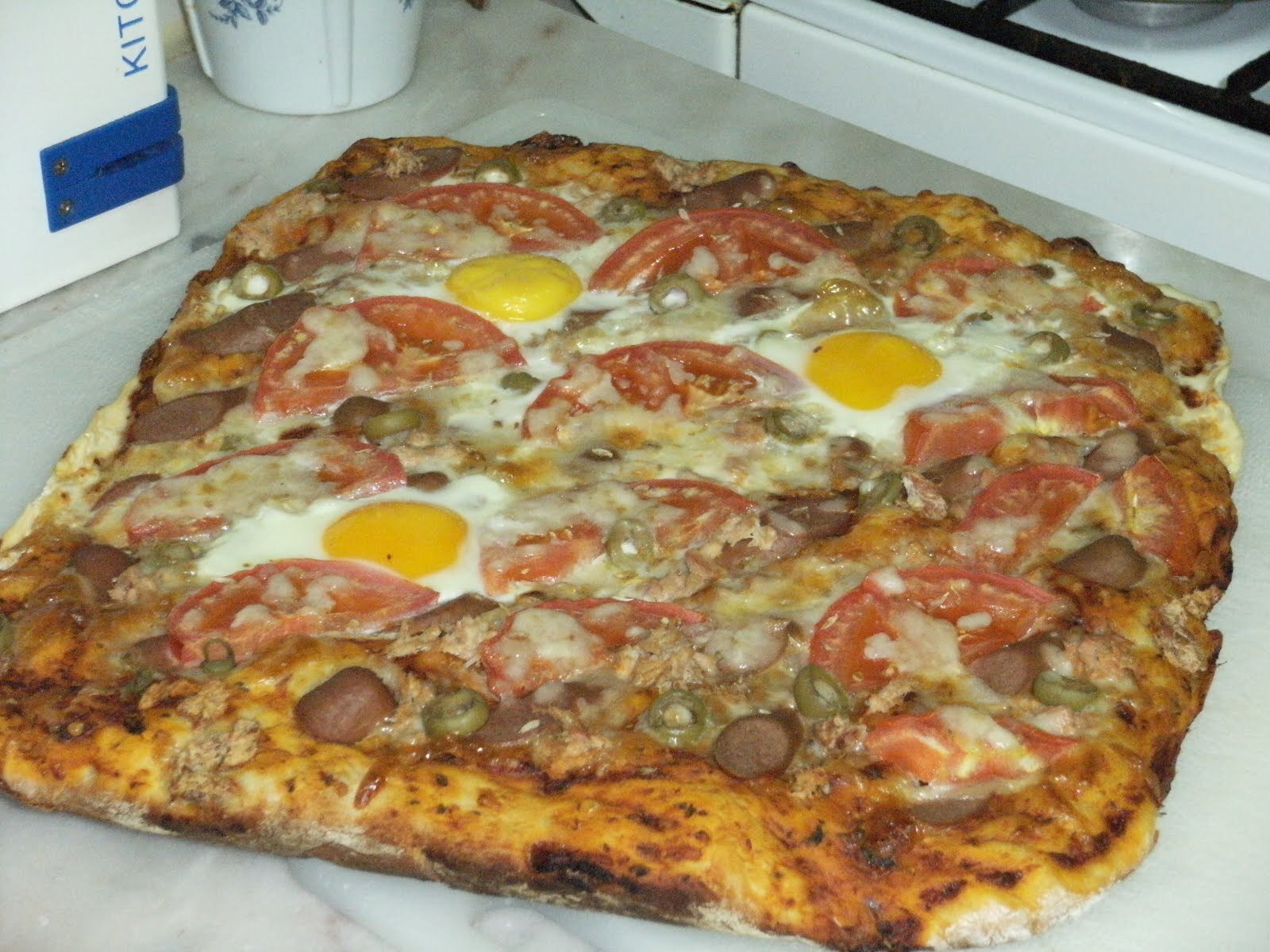 Pizza familiar
