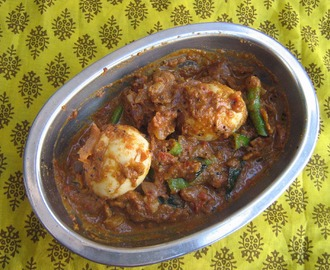 Chettinad egg curry / Egg gravy / Tamilnadu special egg curry