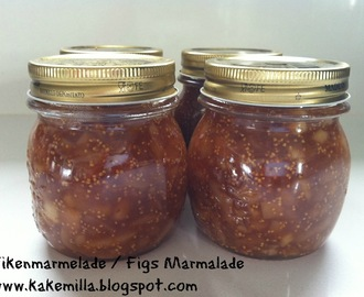Fikenmarmelade til ost / Figs Marmalade for cheese