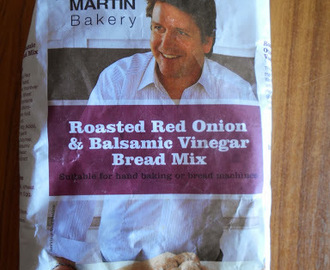 James Martin Bakery Roasted Red Onion & Balsamic Vinegar Bread Mix review