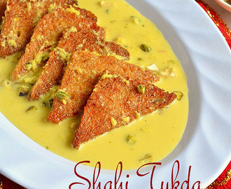 SHAHI TUKDA RECIPE|SHAHI TUKRA-HOLI RECIPES