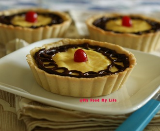 Sweet Nothings Part Deux - Vanilla Tarts with Chocolate Raspberry Ganache