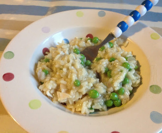 Easy Chicken and Pea Risotto