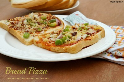Bread Pizza | Easy Kids Recipe