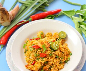 Nasi Goreng  Tom Yam (TomYam Fried Rice)