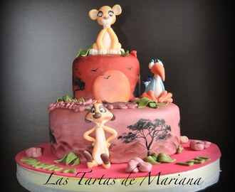 TARTA DE SIMBA ( LION KING)