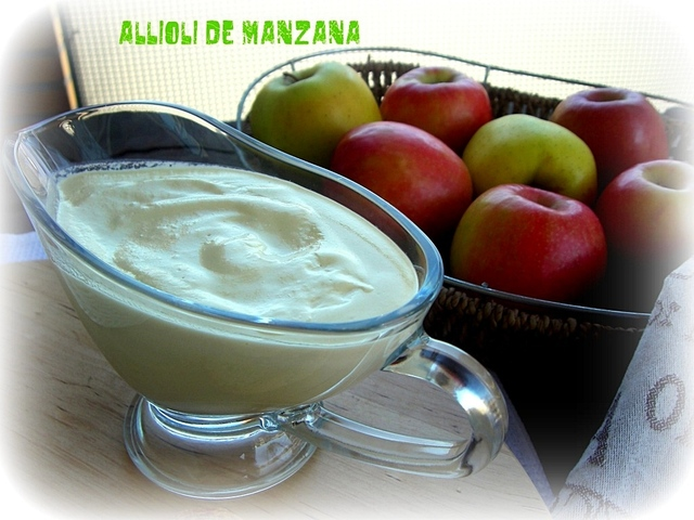 ALL I OLI DE MANZANA ...by Mabel Peñas