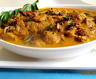 Soya chunks curry (Kerala style)