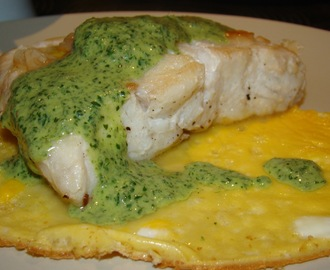 Perca do Nilo com Molho de Hortelã / Nile Perch with Mint Sauce