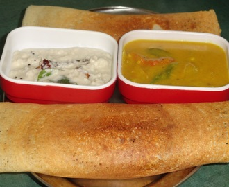 Masala Dosa Preparation from start to finish