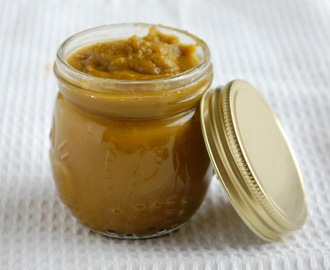 Homemade vegetable stock paste