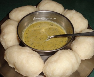 Akki Unde Kadubu/Steamed Rice Dumplings