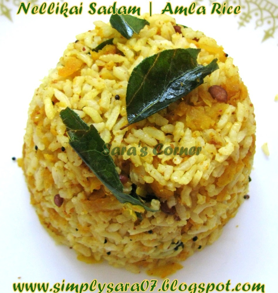 Nellikai Sadam | Amla | Gooseberry Rice Recipe!!!