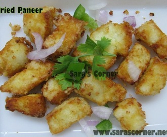 Crispy Paneer | Women's Day Event Announcement and a Giveaway!