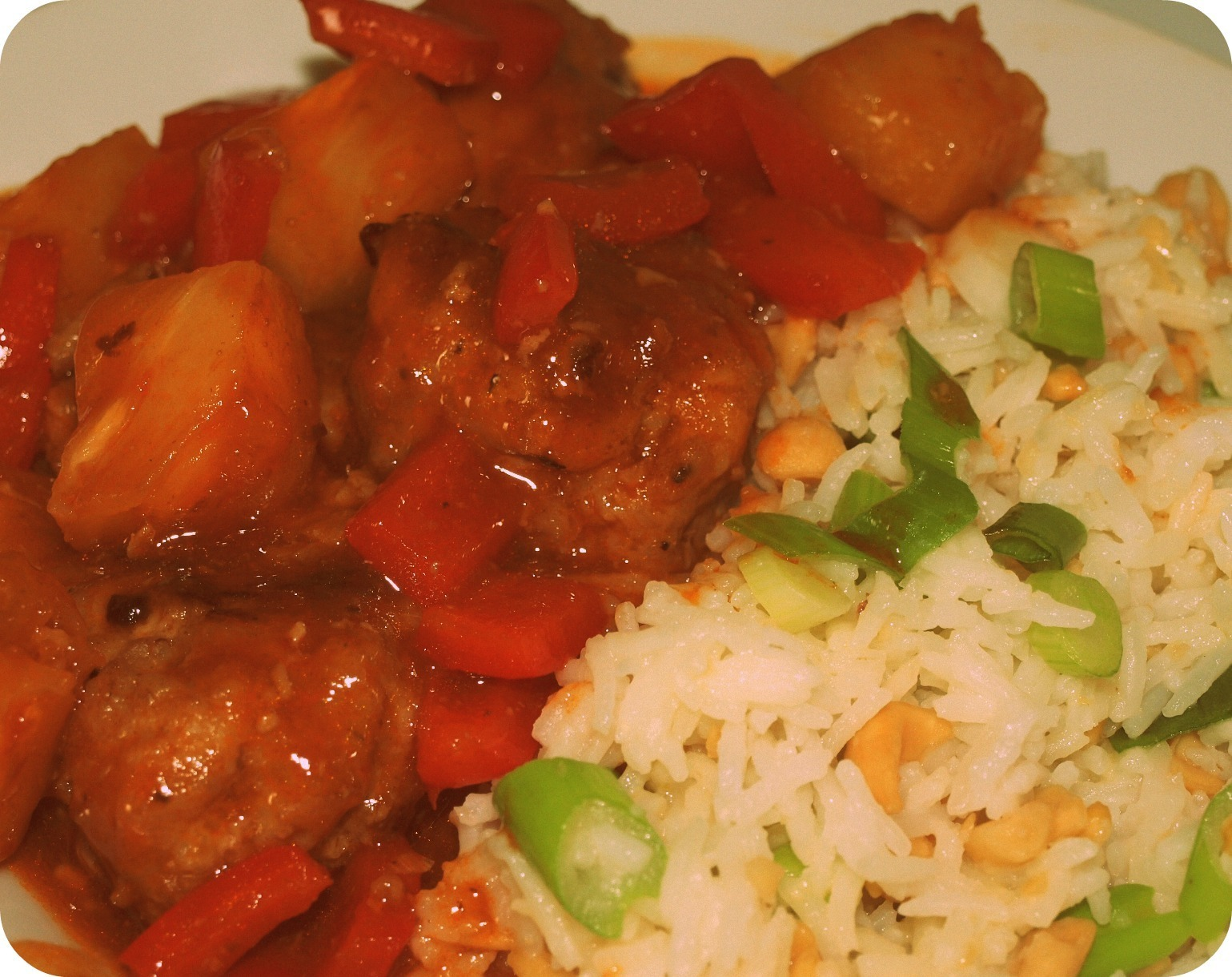 Sweet & Sour Pork Balls